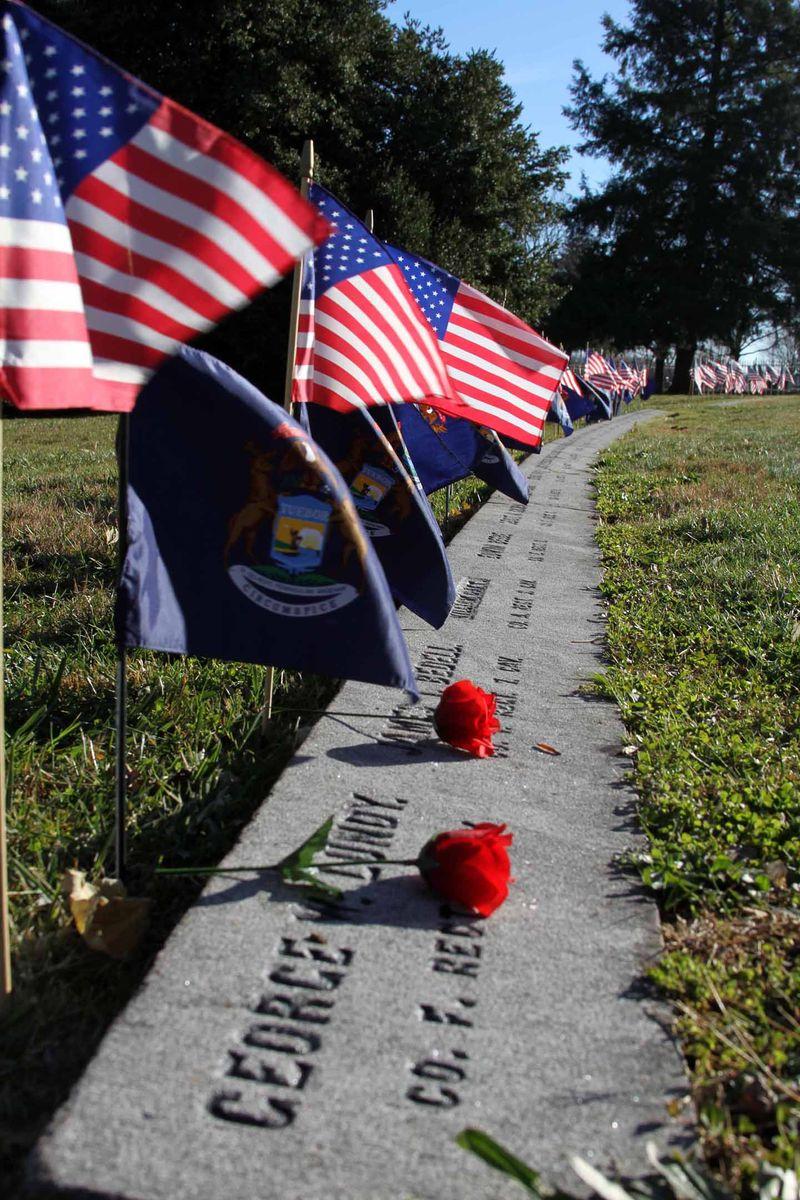 Mich Remembers Gettysburg Nov 2013 a