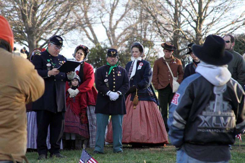 Mich Remembers Gettysburg Nov 2013 e