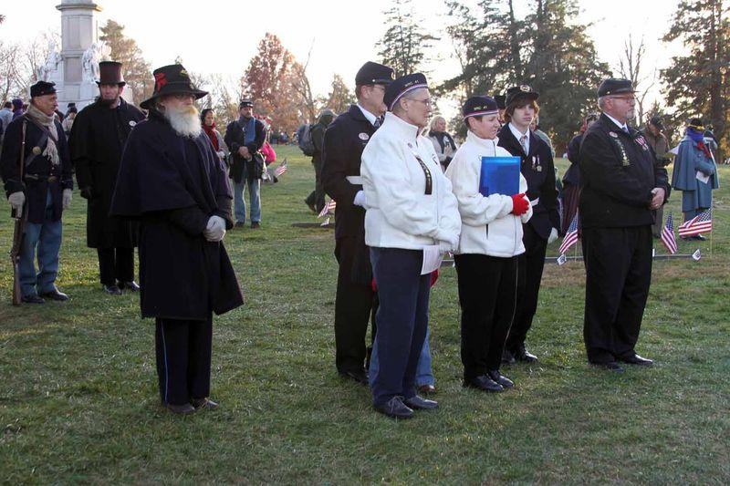 Mich Remembers Gettysburg Nov 2013 h